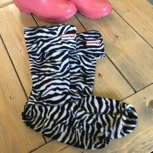 Hunter Zebra Original Tall Boot Socks 36-38